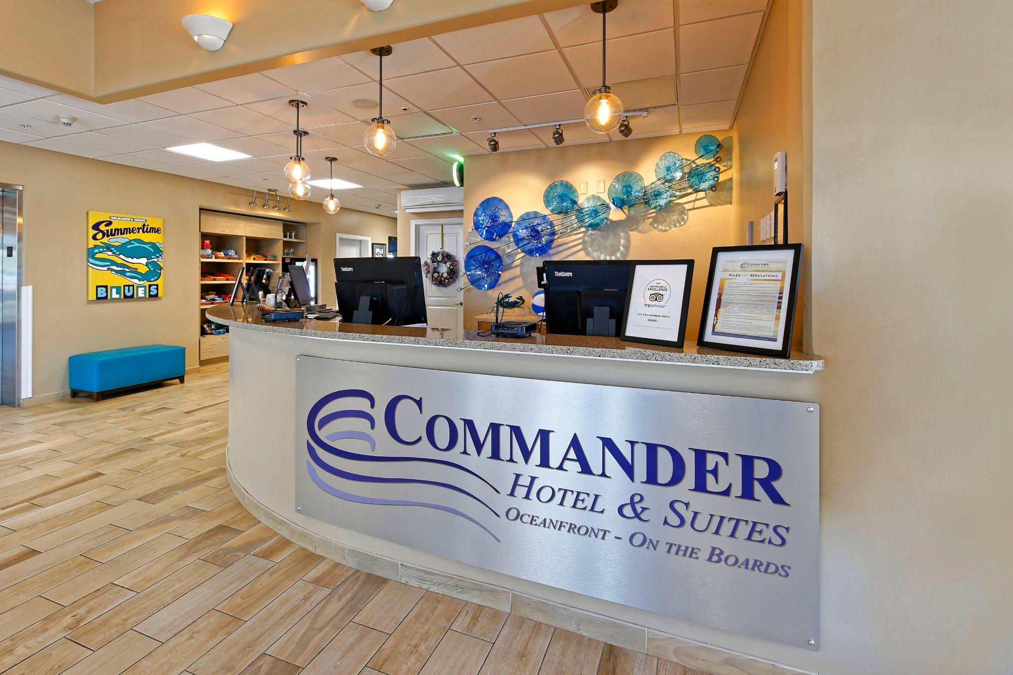 Commander Hotel Lobby