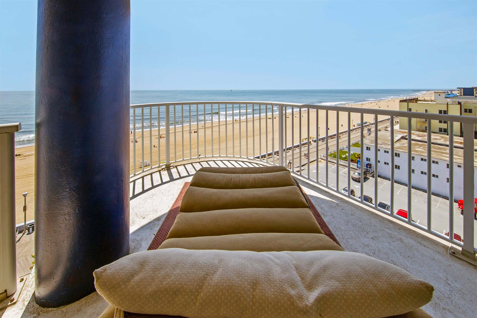 Captain's Suite Ocean View in Ocean City Maryland.
