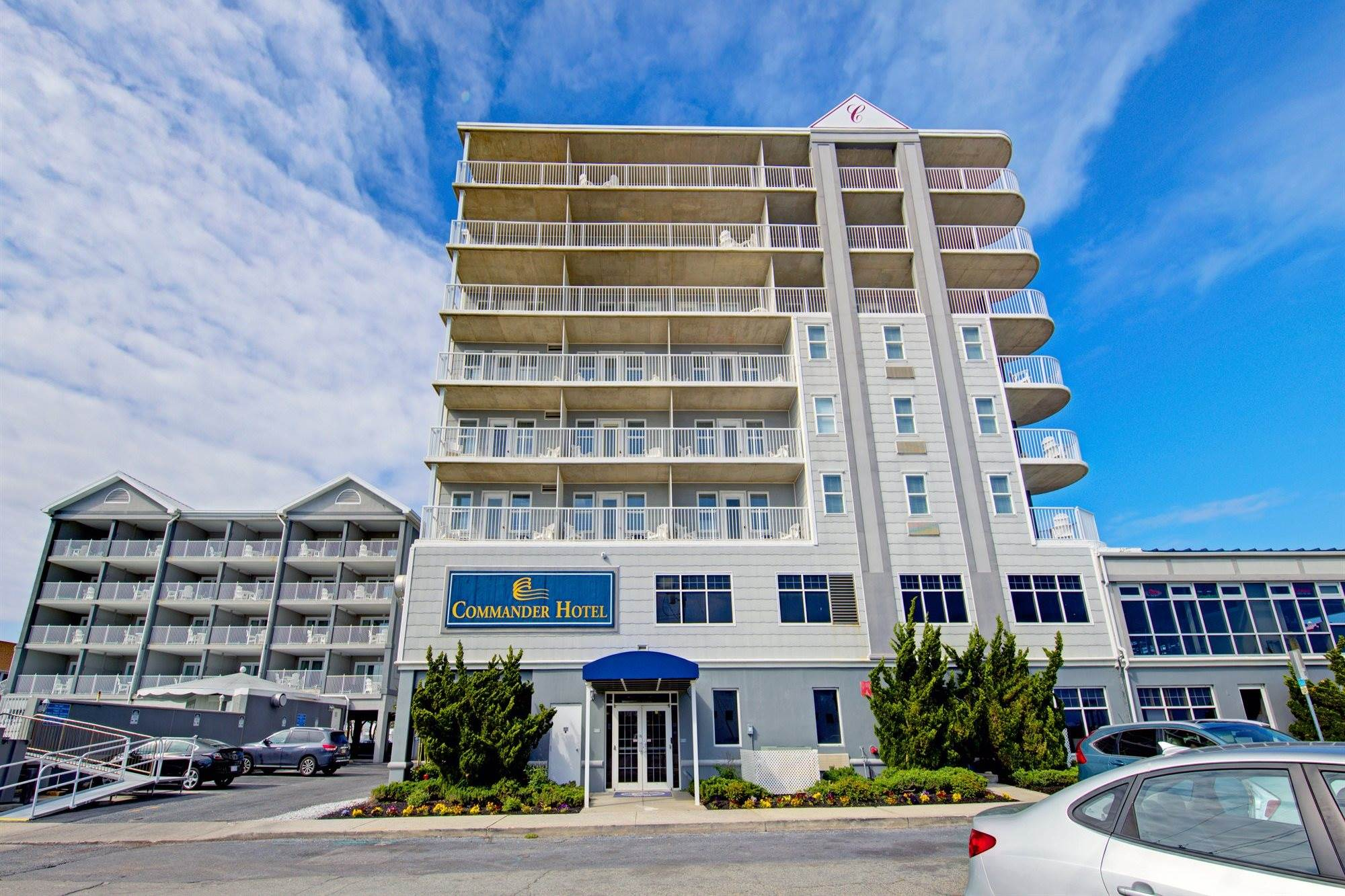Commander Hotel in Ocean City, Maryland - Exterior View